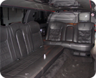 18 passenger suv limo detail